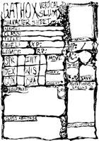 Gathox Vertical Slum Character Sheet