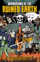 Barbarians of the Ruined Earth (Standard Cover)