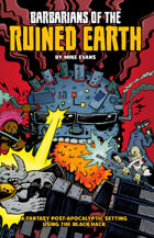Barbarians of the Ruined Earth (Special Edition Cover)
