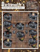Darkwoulfe's Token Pack - Customizable Character Kit Pack 1 - Supplement