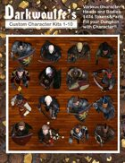 Darkwoulfe's Tokens Customizable Token Packs 1 -10 [BUNDLE]