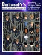 Darkwoulfe's Token Pack Vol41 - Space Fleet Crew - Pack 1