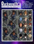 Darkwoulfe's Token Pack Vol42 - Space Fleet Crew - Pack 2