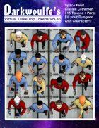 Darkwoulfe's Token Pack Vol46 - Space Fleet Classic - Crew Pack 1