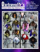 Darkwoulfe's Token Pack Vol48 - Space Fleet Classic -  Aliens