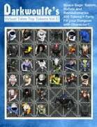 Darkwoulfe's Token Pack Vol57 - Space Saga - Rabble, Robots and Revolutionaries