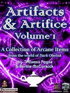Artifacts & Artifice, Volume 1 (Pathfinder)