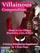 Villainous Compendium (Pathfinder)