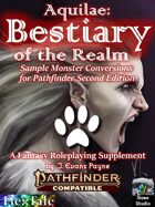Aquilae: Bestiary of the Realm for Pathfinder Second Edition: Sample Monsters