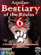 Aquilae: Bestiary of the Realm: Volume 6 (Pathfinder)