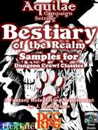 Aquilae: Bestiary of the Realm for Dungeon Crawl Classics (DCC): Sample Monsters