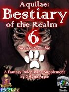 Aquilae: Bestiary of the Realm: Volume 6 (Fifth Edition / 5E)