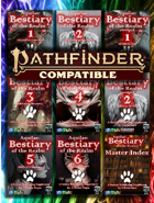 Aquilae: Bestiary of the Realm Pathfinder Second Editon [BUNDLE]