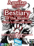 Aquilae: Bestiary of the Realm: Volume 1 (OSR)