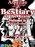 Aquilae: Bestiary of the Realm: Volume 2 (Dungeon Crawl Classics/DCC)