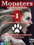 Monsters of Aquilae (Pathfinder)