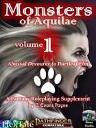 Monsters of Aquilae (Pathfinder Second Edition/P2E)