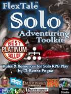 FlexTale Solo Adventuring Toolkit (multisystem: Pathfinder, P2E, 5E, OSR, DCC)