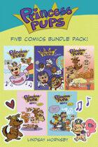 Princess Pups: Five Comics Bundle Pack!