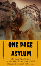 One Page Asylum (Halloween Special 2019)