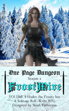 One Page Dungeon: Frostmire: Volume 1