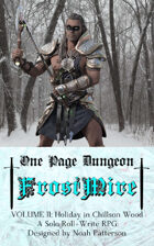 One Page Dungeon: Frostmire: Volume 2