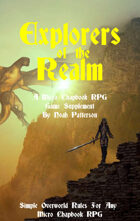 Explorers of the Realm: A Micro Chapbook RPG Supplement