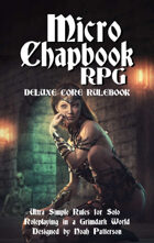 Micro Chapbook RPG Deluxe Core Rulebook