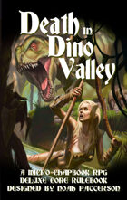 Death in Dino Valley: Deluxe Core Rulebook
