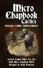 Micro Chapbook Tactics