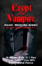 Crypt of the Vampire: The Lord VanDrac Chronicles V.3