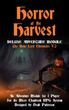 Horror at the Harvest: The Bone Lord Chronicles V.2