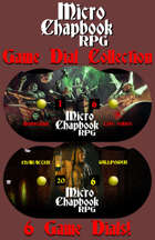 Micro Chapbook RPG: Game Dial Collection