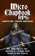 Micro Chapbook RPG: Quickstart Edition