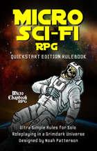 Micro Sci-Fi RPG: Quickstart Edition