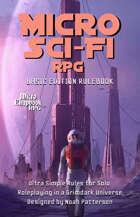 Micro Sci-Fi RPG: Basic Rules