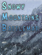 Snowy Mountain Battlemap