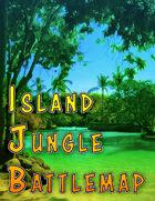Island Jungle Battlemap