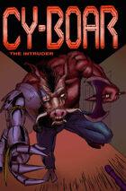 Cy-Boar #5: The Intruder  +  Scorp #1: Silent Interlude