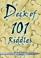 Deck of 101 Riddles
