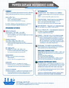 Power Outage Reference Guide