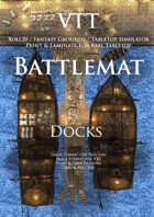 VTT Battlemap - Docks Map