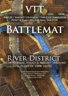 VTT Battlemap - River District