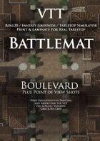 VTT Battlemap - Boulevard