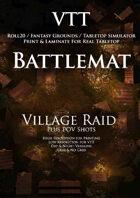 VTT Battlemap - Village Raid