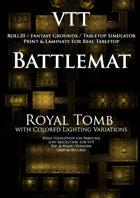 VTT Battlemap - Royal Tomb