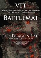 VTT Battlemap - Red Dragon Lair