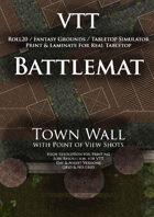 VTT Battlemap - Town Walls
