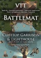 VTT Battlemap - Clifftop Garrison & Lighthouse