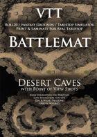 VTT Battlemap - Desert Caves